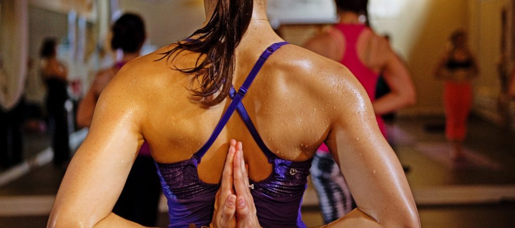 the benefits of yoga for weight loss: hot yoga