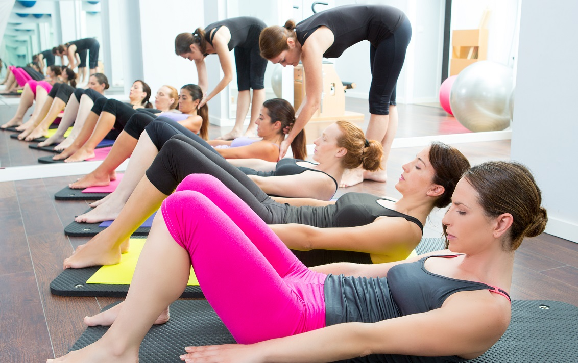 pilates class is a top exercise for losing weight